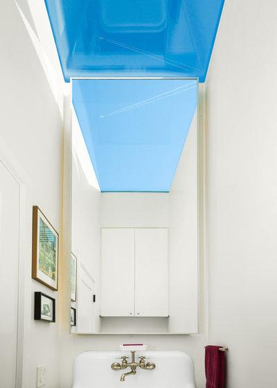 Contemporary Powder Room by Hsu McCullough