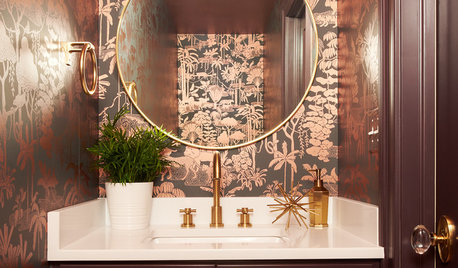 20 Powder Rooms That Will Definitely Impress Your Guests