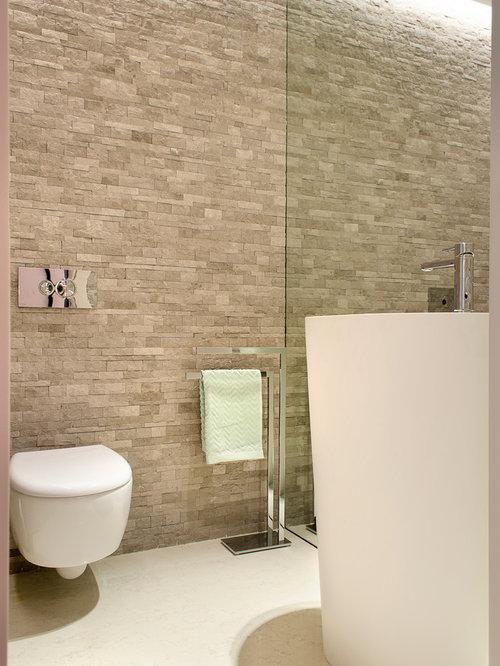 photos et id es d co de wc et toilettes avec un carrelage. Black Bedroom Furniture Sets. Home Design Ideas