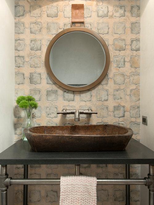 landhausstil g stetoilette g ste wc mit granit. Black Bedroom Furniture Sets. Home Design Ideas