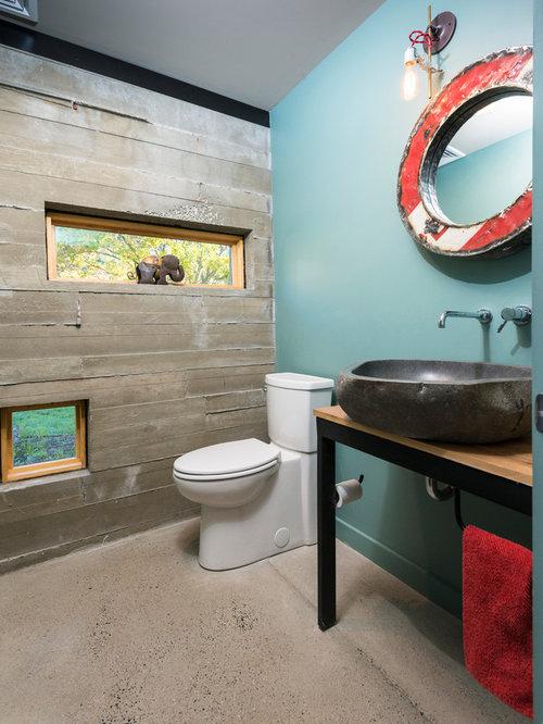 Idées de décoration pour des petits WC et toilettes urbains avec un WC  séparé, un