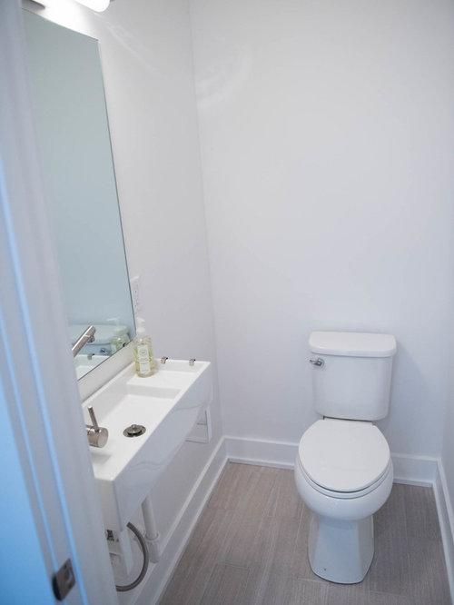 moderne g stetoilette g ste wc mit laminat ideen f r. Black Bedroom Furniture Sets. Home Design Ideas