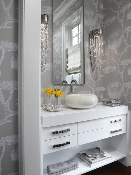 Bathroom Wallpaper Ideas Home Design Ideas Pictures