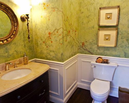 Bathroom Chair Rail Houzz
