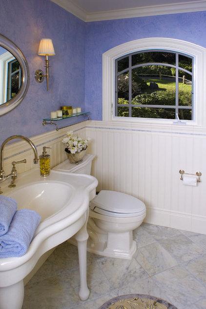 Traditional Powder Room by Brownhouse Design, Los Altos, CA