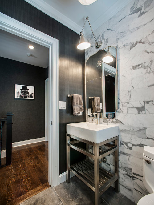 our 50 best powder room with open cabinets idea