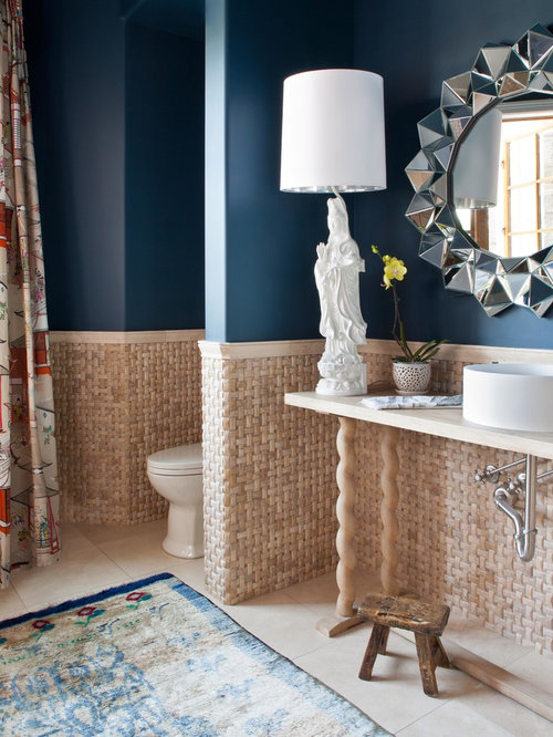 Navy Bathroom Houzz