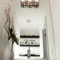 modern powder room by Imperium Design