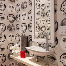 Eclectic Powder Room by Artistic Designs for Living, Tineke Triggs