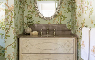 Design Details: Powder Room Vanity Styles With Personality