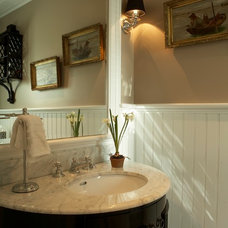 Traditional Powder Room by Shor Home