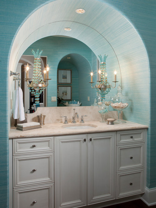 turquoise kitchen cabinets arched vanity houzz 2968