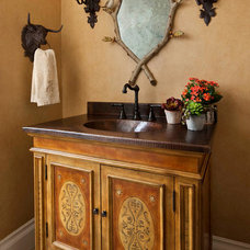 Traditional Powder Room by Chambers Interiors & Associates, Inc.