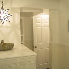 Traditional Powder Room by Your Favorite Room By Cathy Zaeske