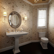 Traditional Powder Room by Vivid Interior Design - Danielle Loven