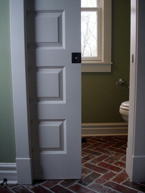 Powder room pocket door ideas pictures remodel and decor for Pocket door ideas