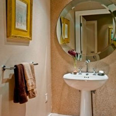 Contemporary Powder Room by TOMHILL STUDIO