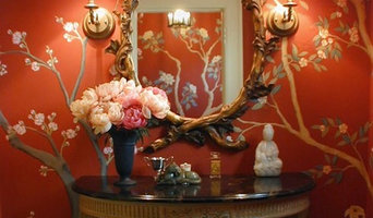 Chinoiserie Powder Room