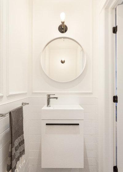 12 tricks to visually expand a small bathroom for Martin craig bathroom design studio