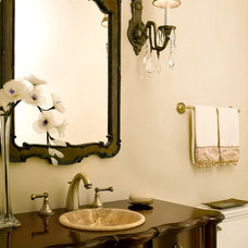 Traditional Powder Room by Eminent Interior Design