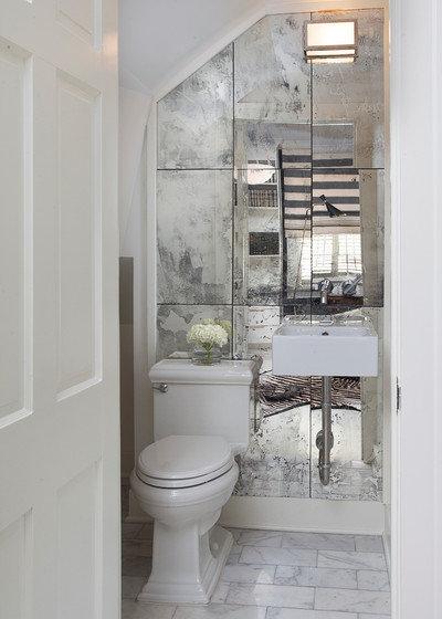 Contemporary Toalett by TY LARKINS INTERIORS