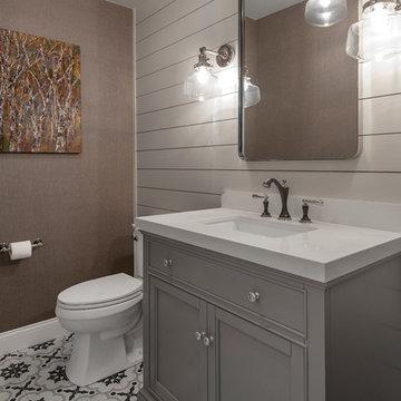 Clean Bold Bathrooms