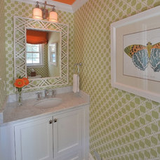 Modern Powder Room by Priscilla Fenlin Interiors