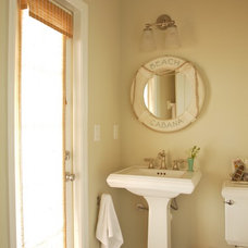 Beach Style Powder Room by Tweak Your Space