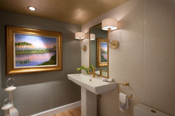 Modern Powder Room by W Design Interiors