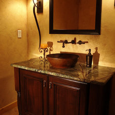 Traditional Powder Room by Hixon Interiors, Inc.