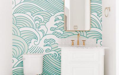 Designer Tricks to Make a Windowless Bathroom Brighter