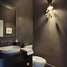 Contemporary Powder Room by Daher interior Design