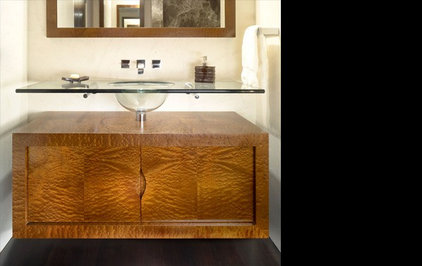 contemporary powder room by Gibbons, Fortman & Associates, Ltd.