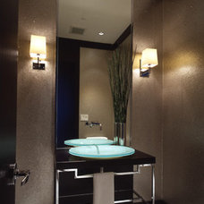 Contemporary Powder Room Contemporary Powder Room