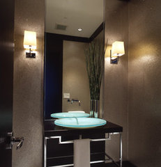contemporary powder room by RYAN ASSOCIATES GENERAL CONTRACTORS