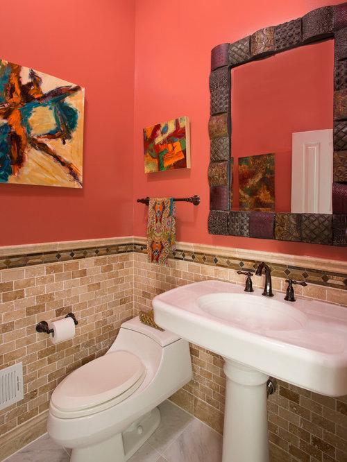 . Powder Room Bathroom Remodel   Bethesda Potomac  MD