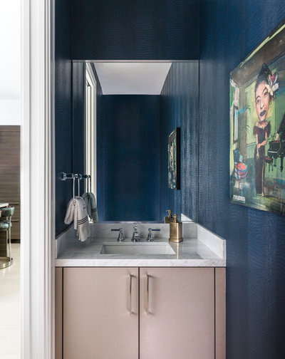 Contemporary Powder Room by TIPLER Design
