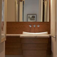 Contemporary Powder Room by Dochia Interior Design