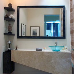 contemporary powder room by Orren Pickell Building Group