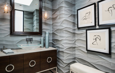 Try Dimensional Tile for a Designed Look