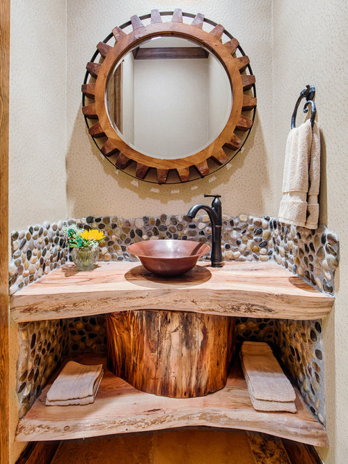 Rustic Wood Sink Stand Ideas Pictures Remodel And Decor