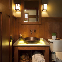 traditional powder room by Johnson Design Inc.