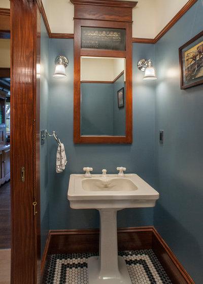 Craftsman Powder Room Craftsman Powder Room