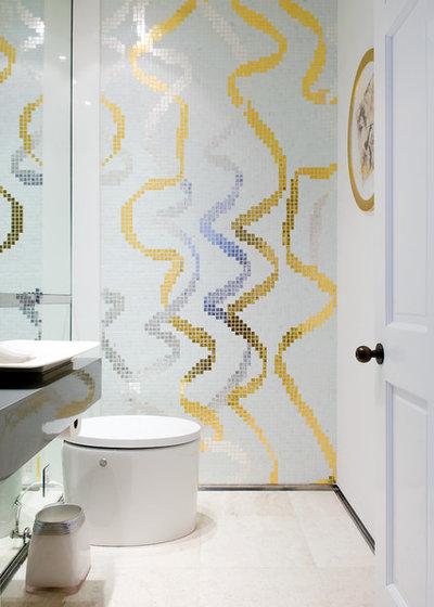 コンテンポラリー トイレ・洗面所 by Pepe Calderin Design- Modern Interior Design
