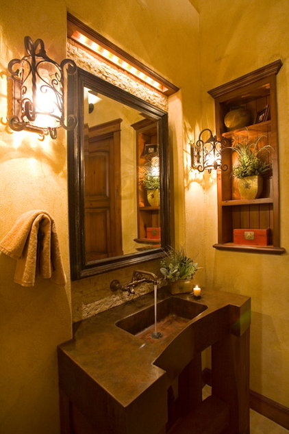 Traditional Powder Room by Scott Gilbride/Architect Inc.