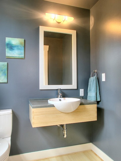 Traditional Powder Room by Neiman Taber Architects