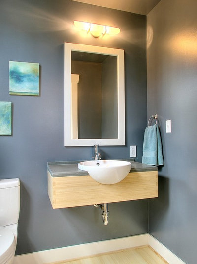 Superb Traditional Powder Room by Neiman Taber Architects