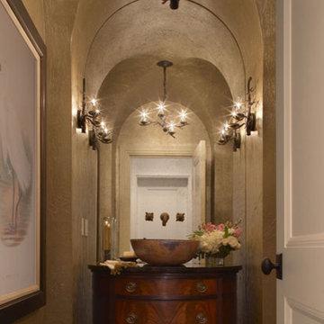 Custom Home Design, Powder Room