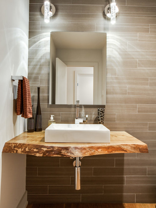 Live Edge Vanity Home Design Ideas Pictures Remodel And