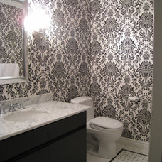 Traditional Powder Room by Wow Great Place